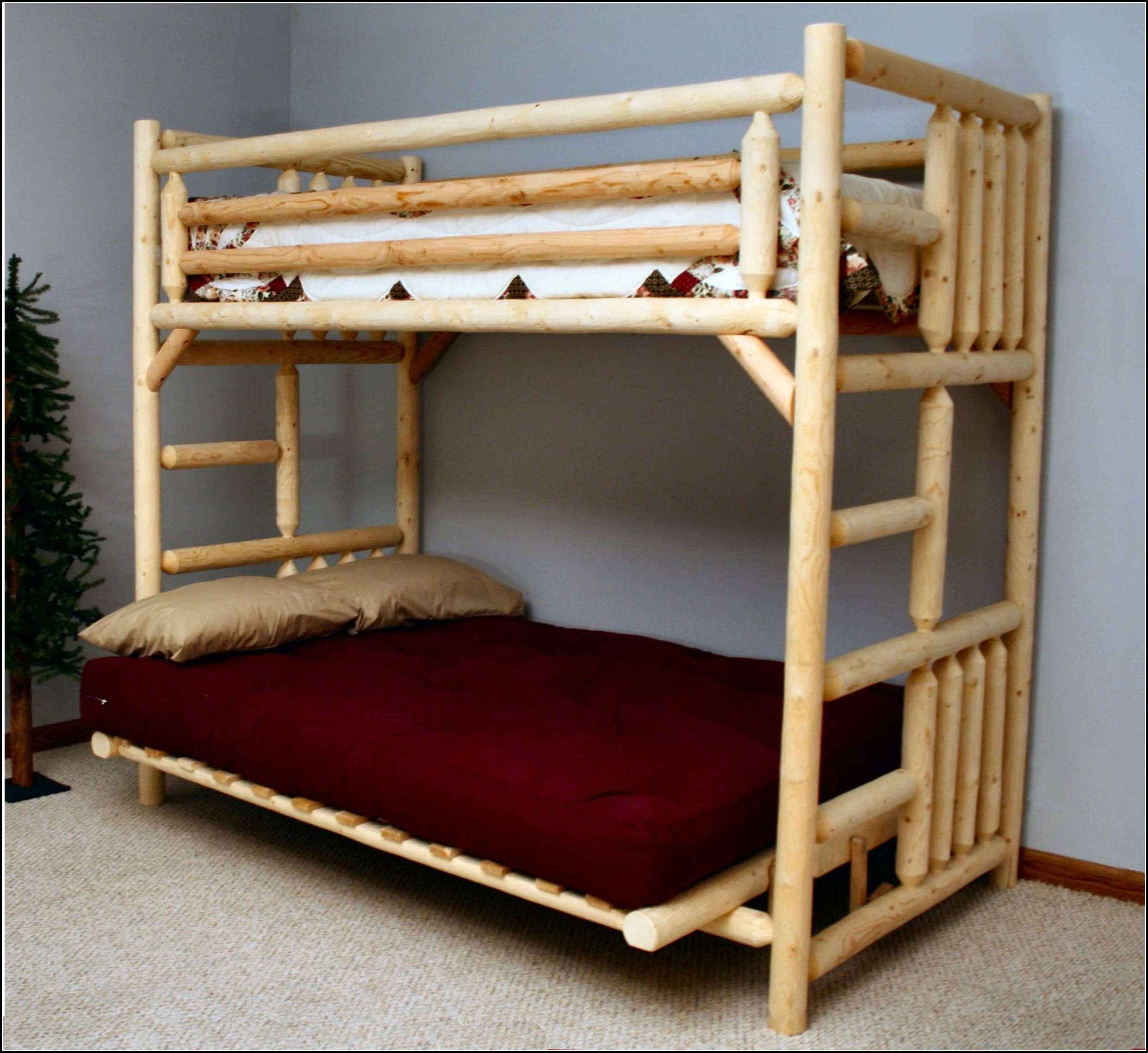 Bunk Beds With Futon
