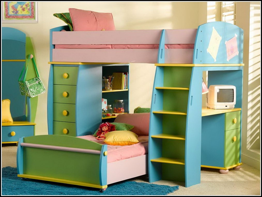 Bunk Beds With Steps And Storage