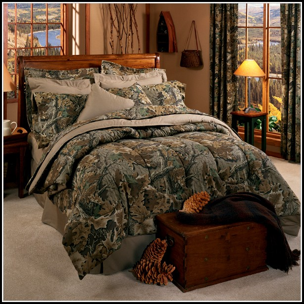 Camo Bedding Sets With Curtains