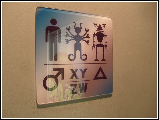 Gender Neutral Bathroom Signs Funny