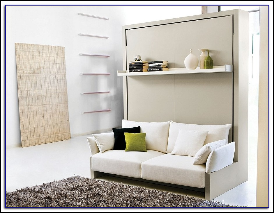 Murphy Bed With Couch In Front