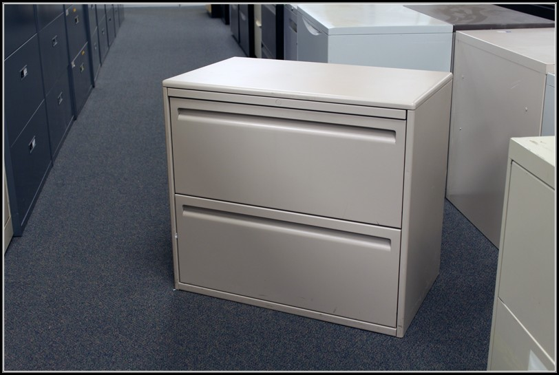 2 Drawer Lateral File Cabinet Used