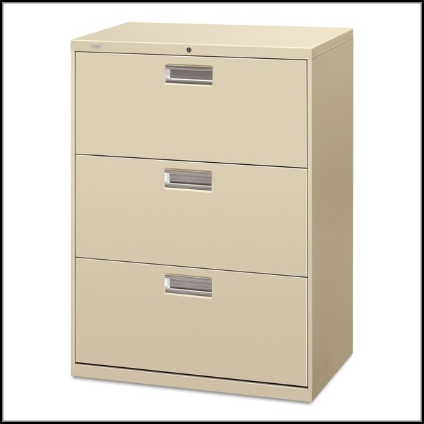 3 Drawer Lateral File Cabinet Putty