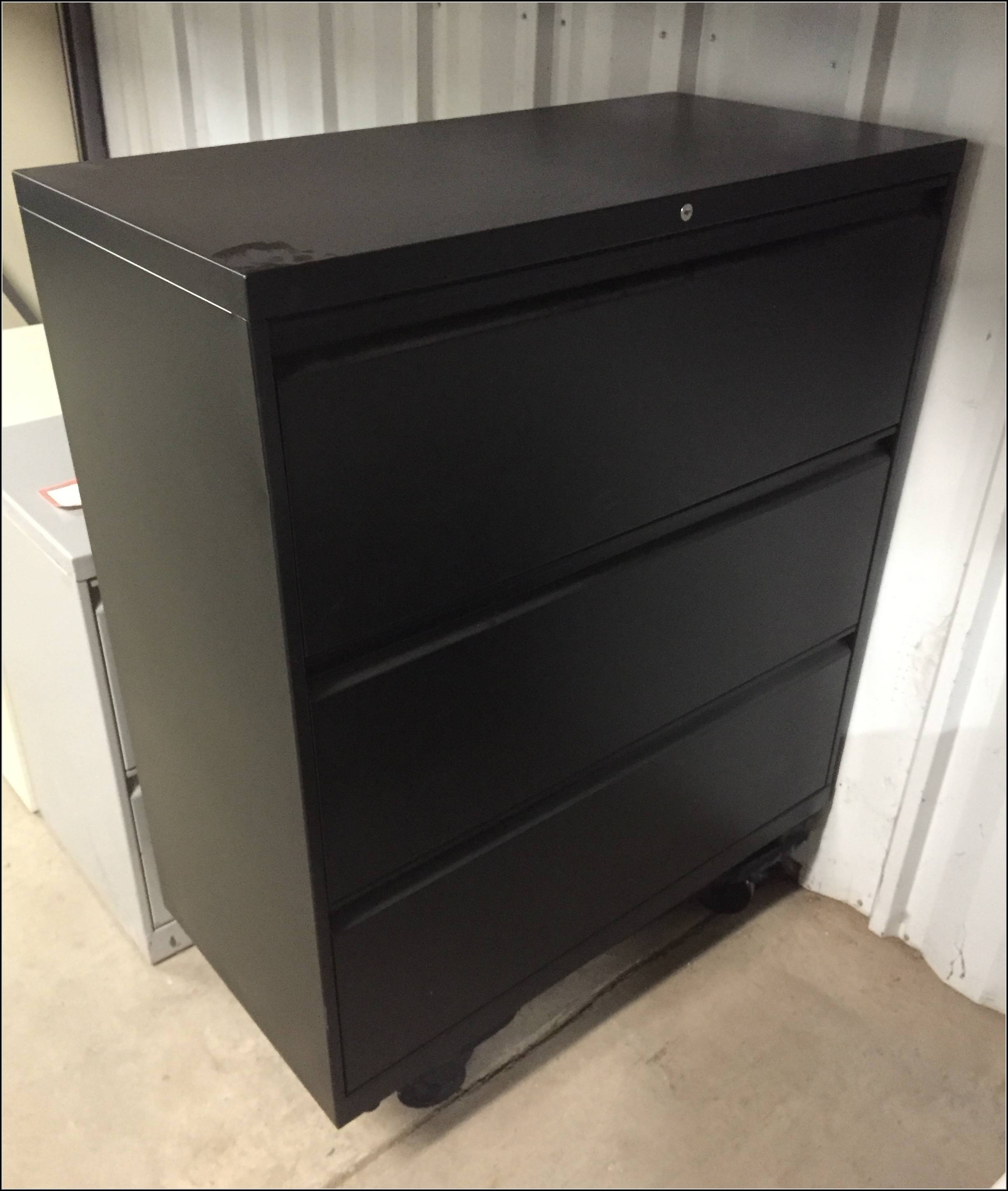 3 Drawer Lateral File Cabinet Used