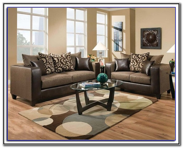 American Freight 7 Piece Living Room Set