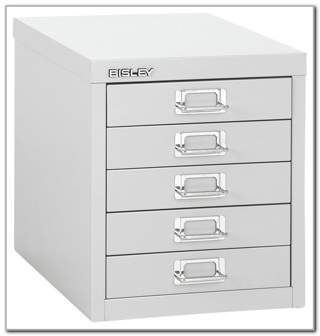 Bisley 5 Drawer Desktop Multi Drawer Cabinet