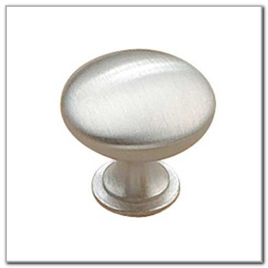 Brushed Chrome Cabinet Knobs