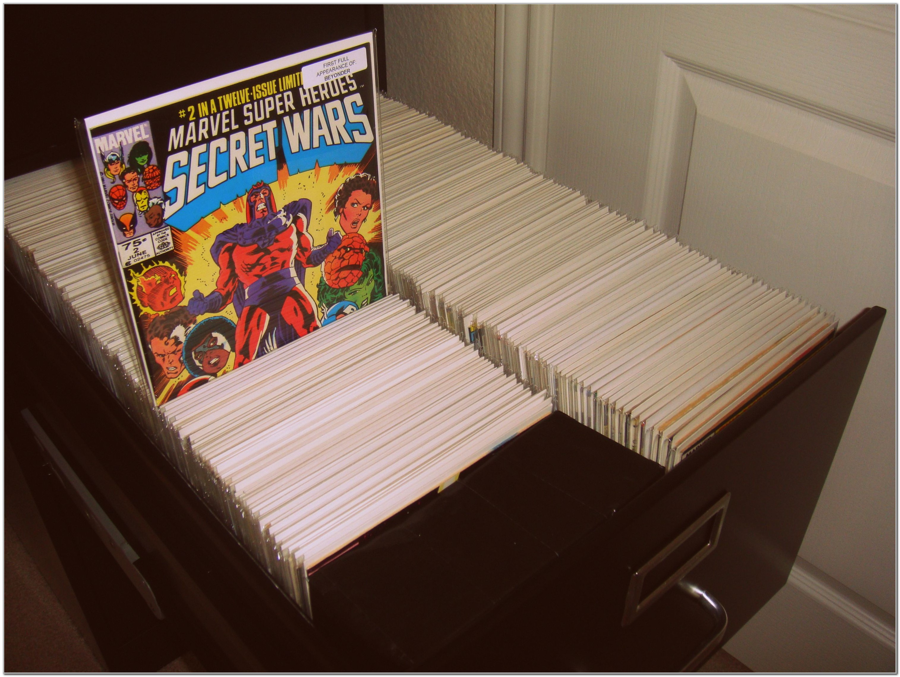 Comic Book Storage Filing Cabinets