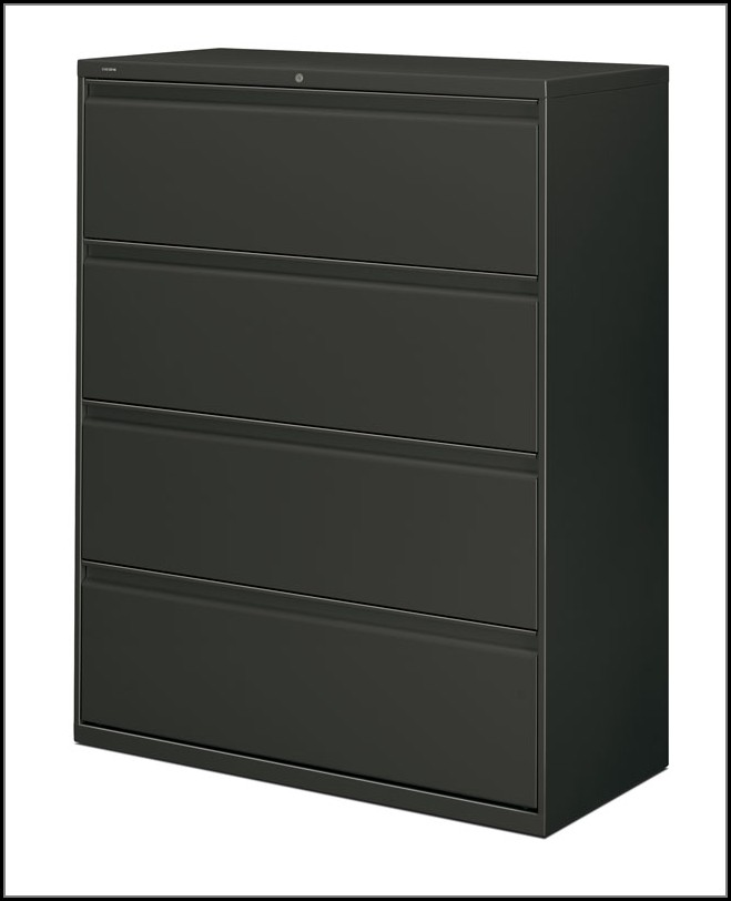 Hon 42 4 Drawer Lateral File Cabinet
