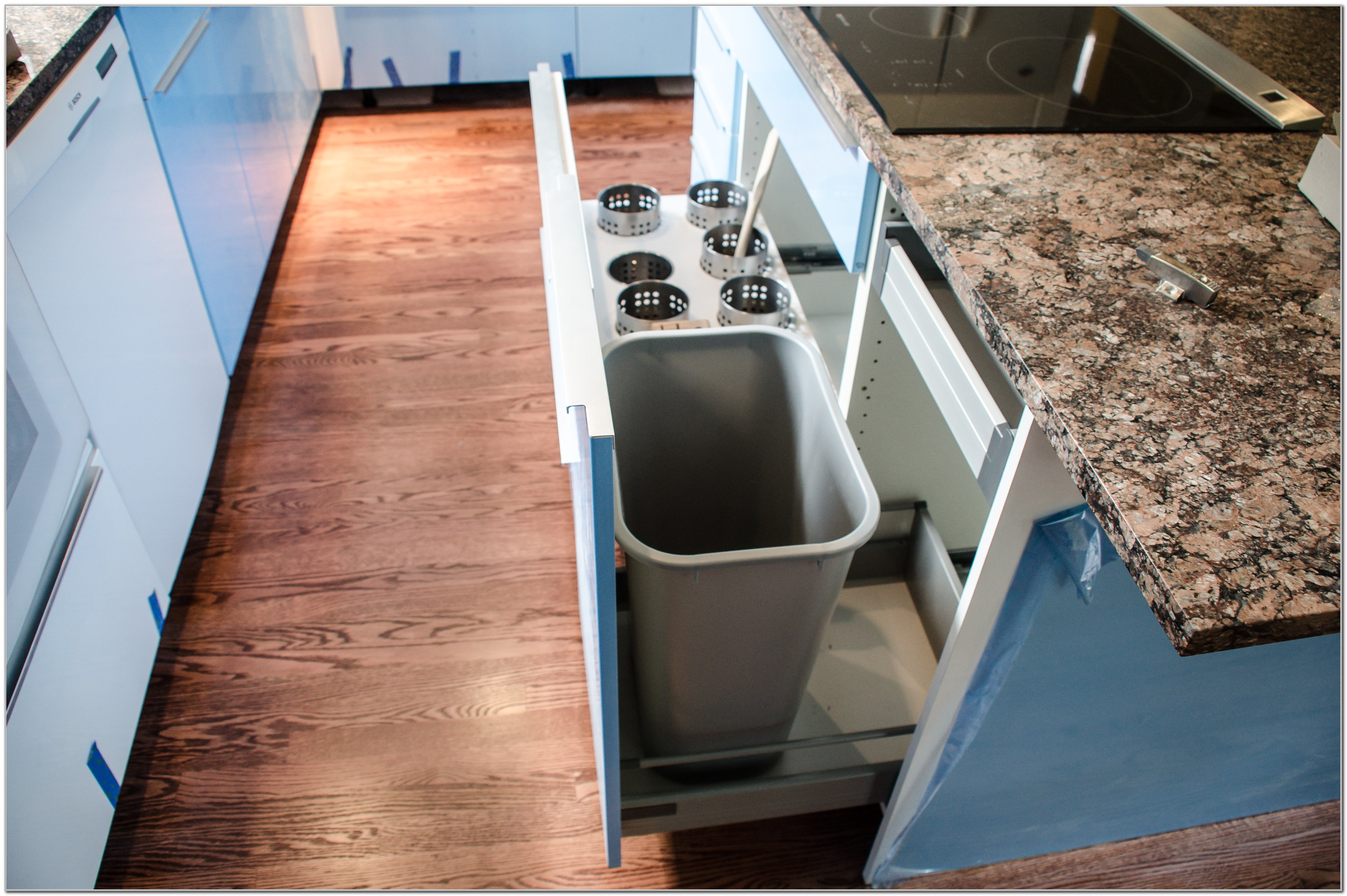 Ikea Cabinet Trash Pull Out