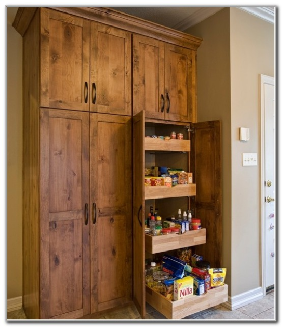 Large Freestanding Pantry Cabinet