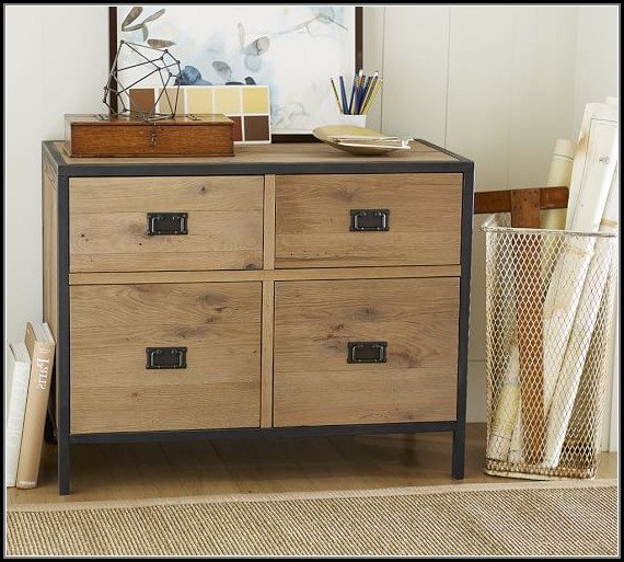 Pottery Barn File Cabinet Plans