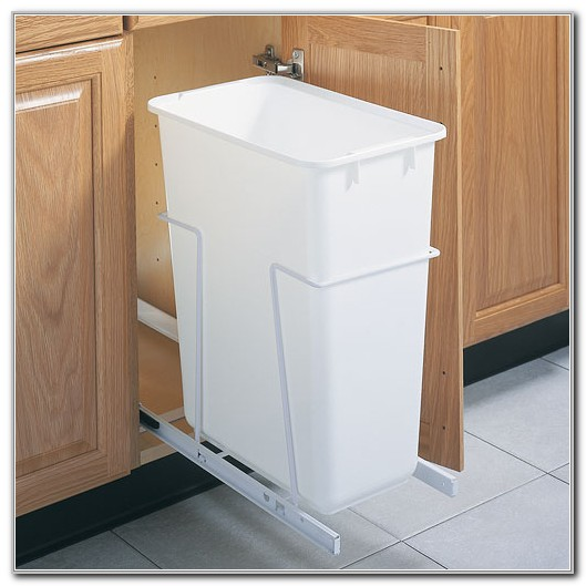 Pull Out Cabinet Trash Can 50 Quart