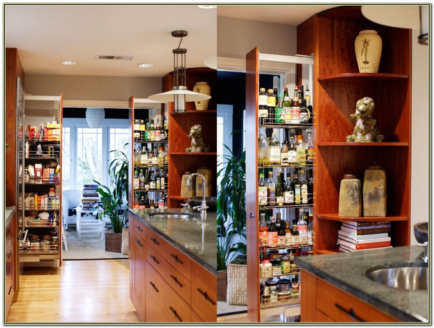 Pull Out Pantry Cabinet Dimensions