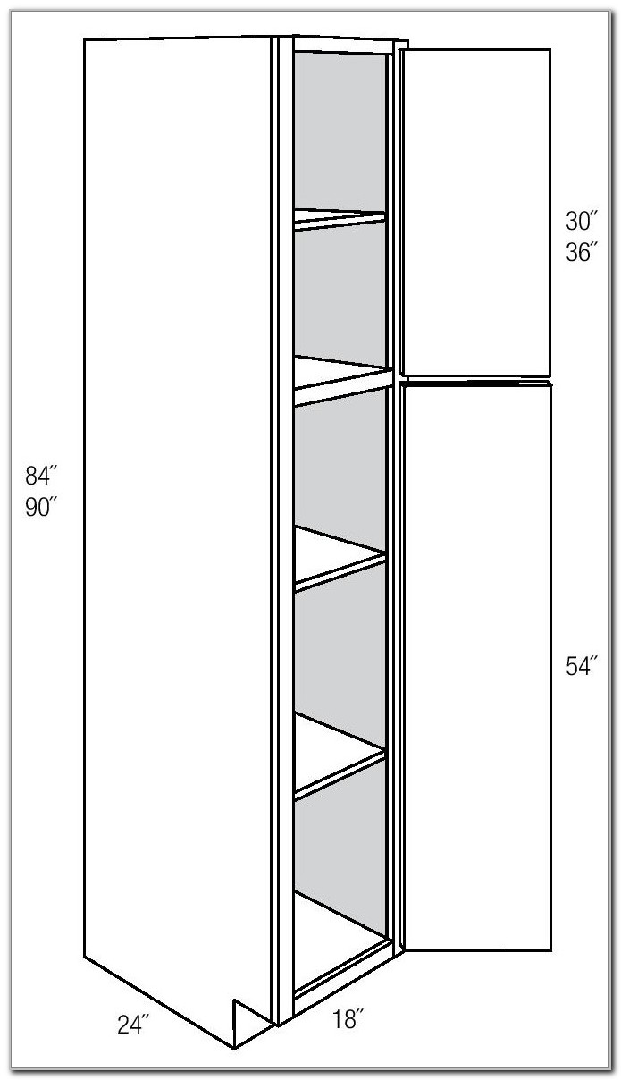 Pull Out Pantry Cabinet Sizes
