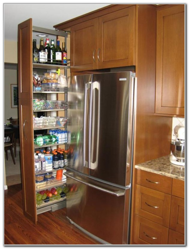 Pull Out Pantry Cabinets