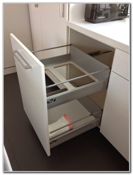 Pull Out Trash Cabinet Plans