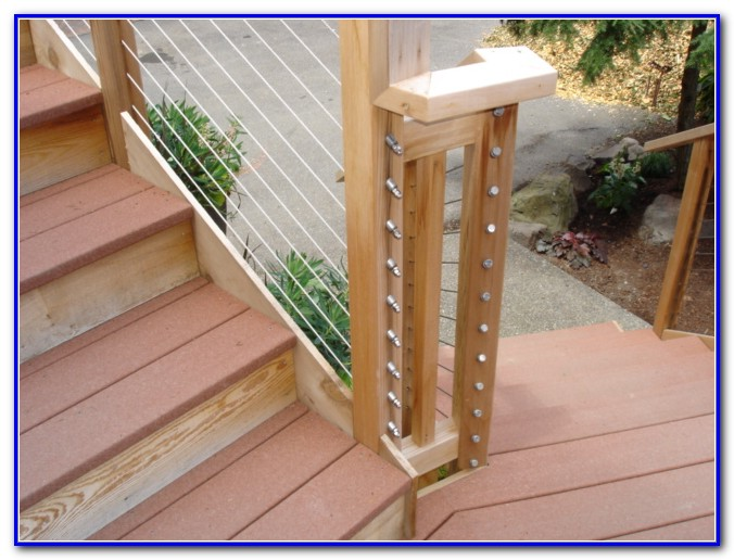 Rope Deck Railing Pictures