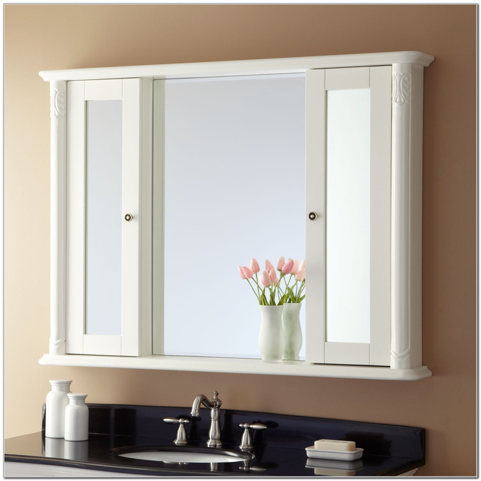 Surface Mounted Medicine Cabinets With Mirror