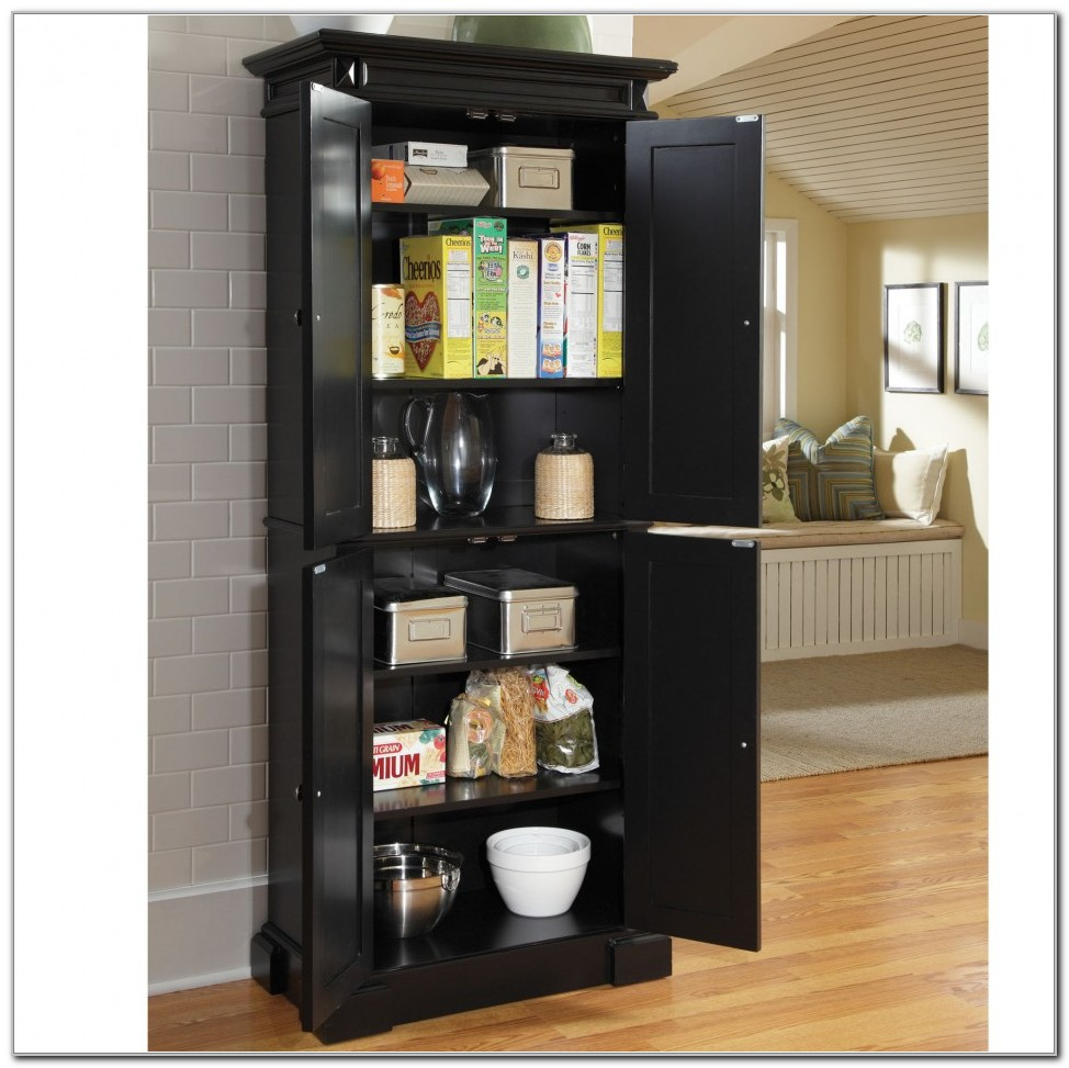 Tall Kitchen Cabinet With Doors