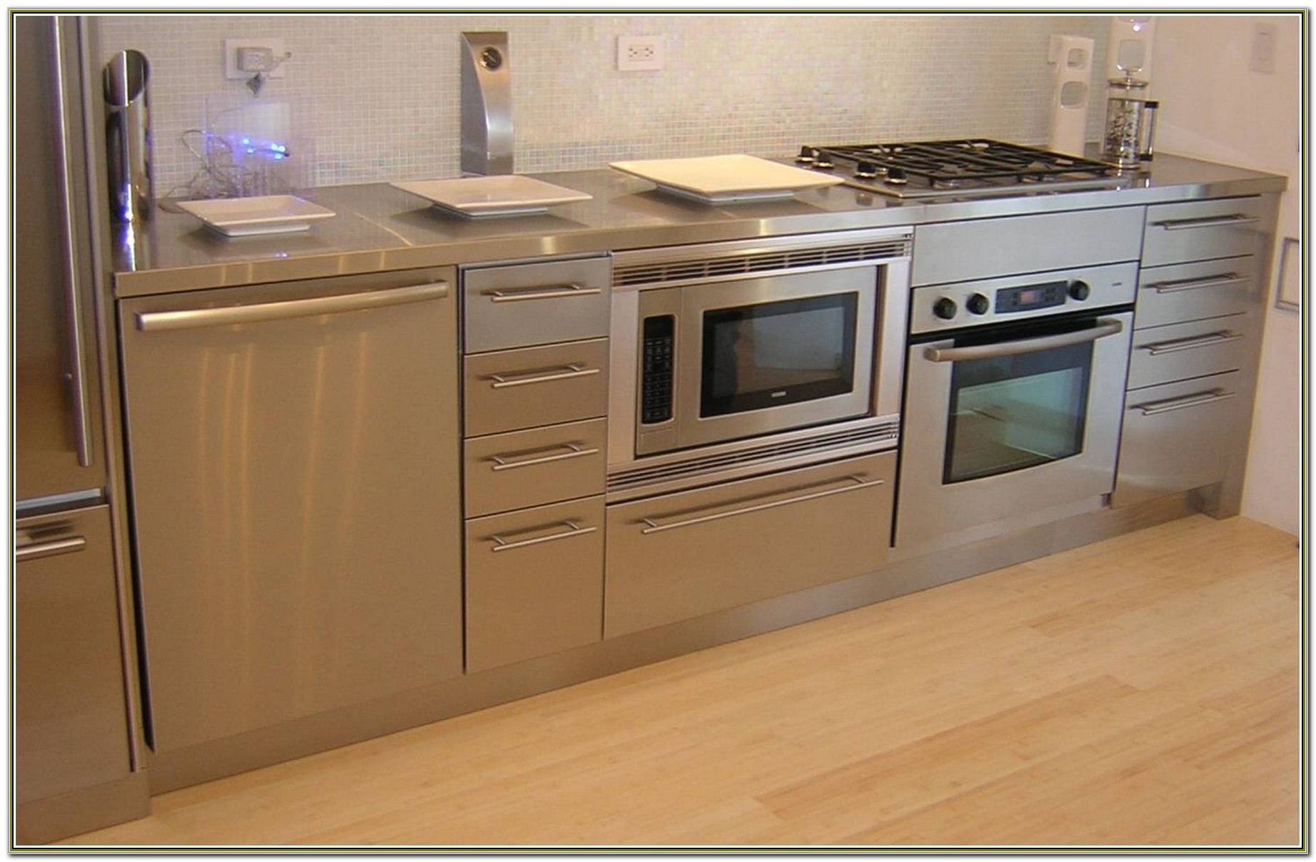 Under Cabinet Microwave Oven Stainless
