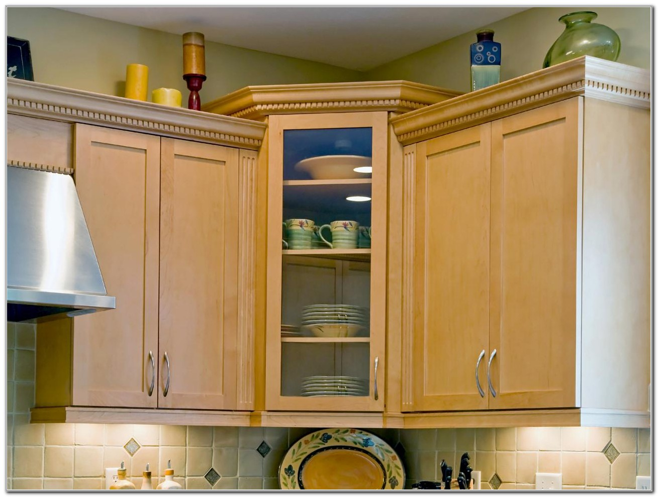 Upper Corner Kitchen Cabinet Storage Ideas