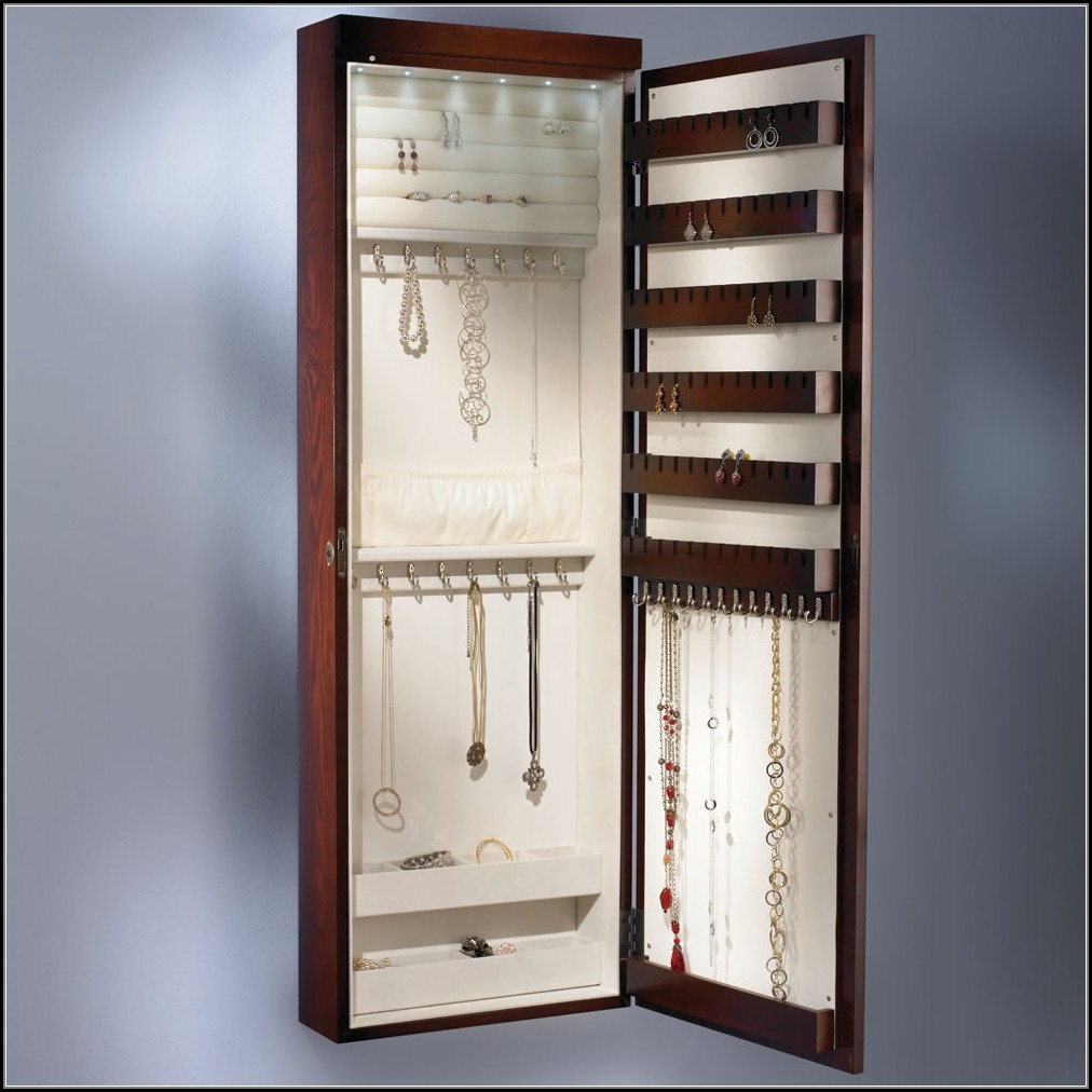 Wall Mount Jewelry Cabinet