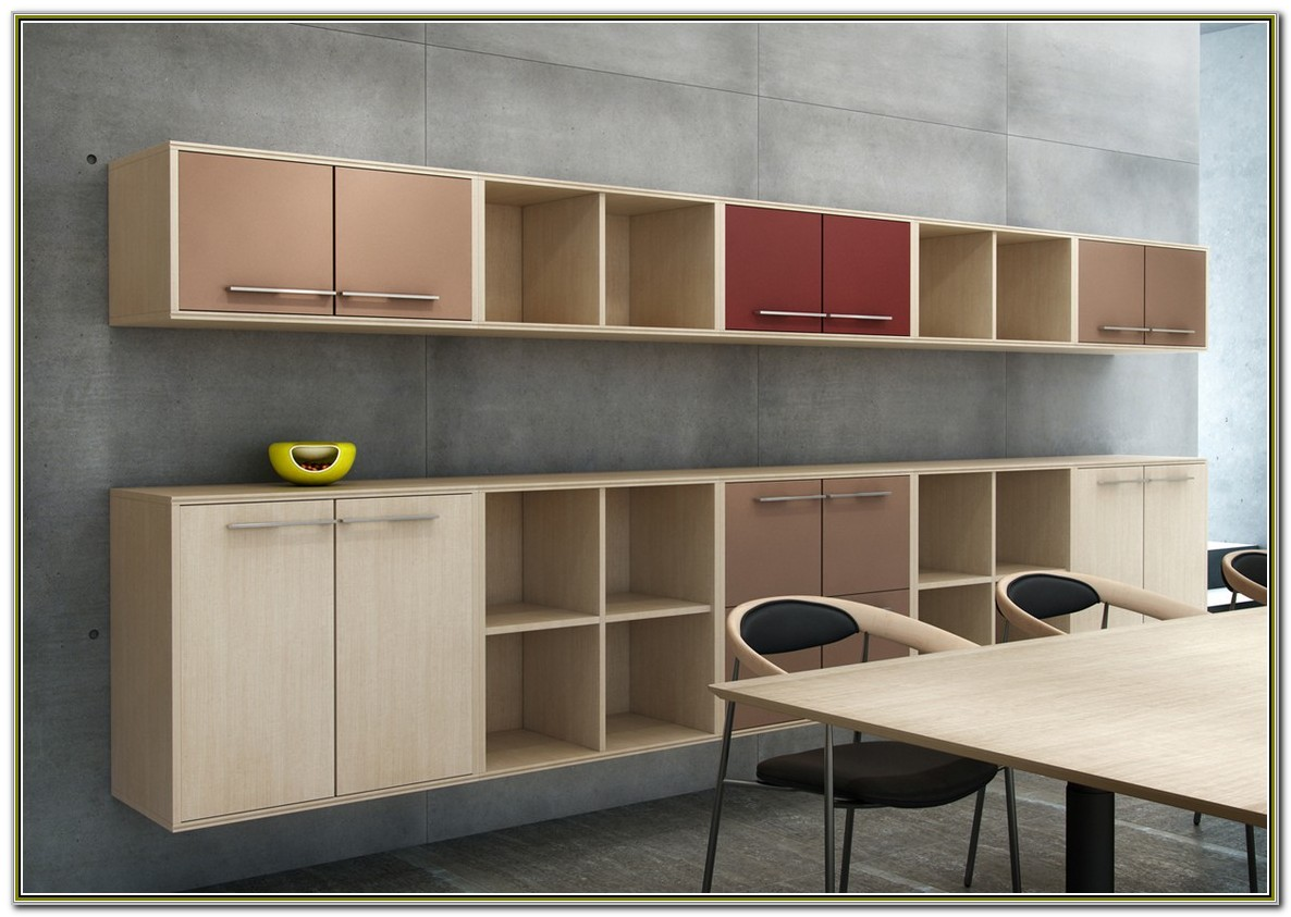 Wall Mounted Office Cabinets