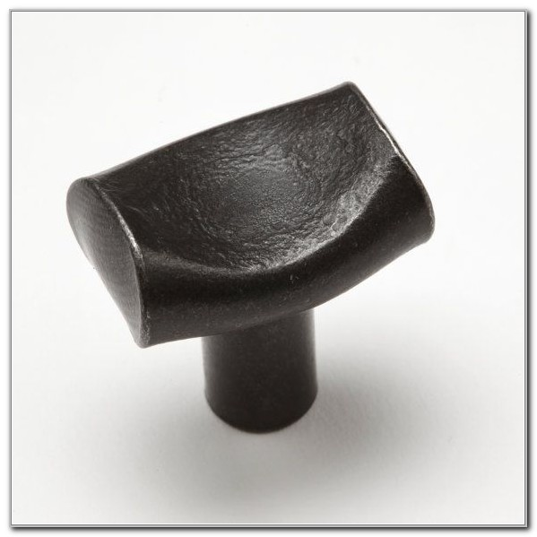 Wrought Iron Cabinet Knobs