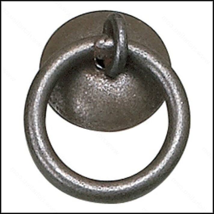 Wrought Iron Drawer Ring Pulls