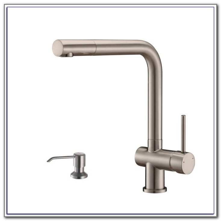 Modern Kitchen Faucets With Soap Dispenser