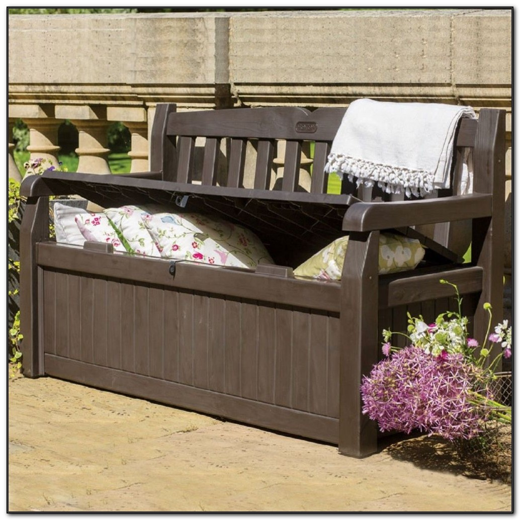 Patio Deck Box Bench