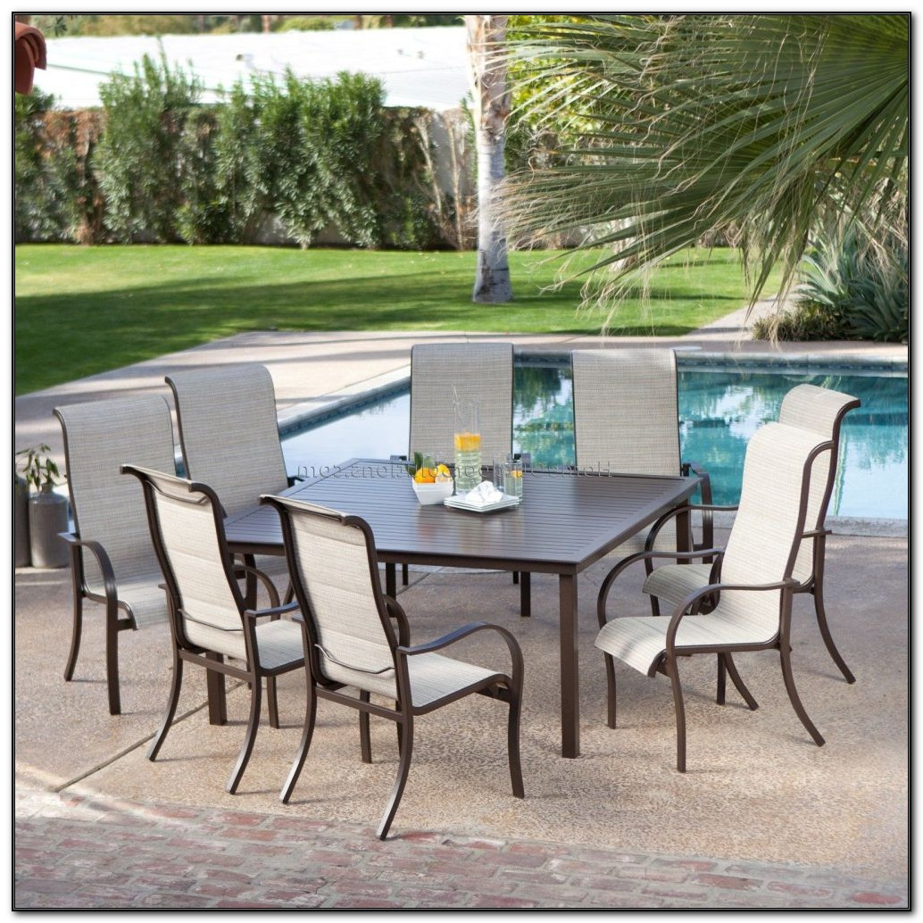 Patio Furniture Dining Sets With Umbrella
