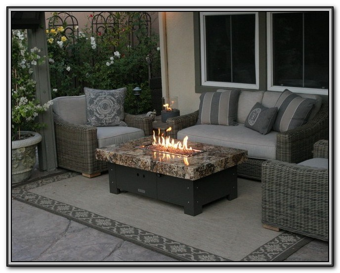 Patio Furniture With Fire Pit Table Uk