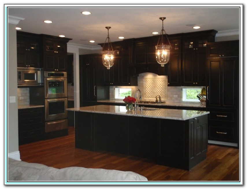 Staining Kitchen Cabinets Darker Color