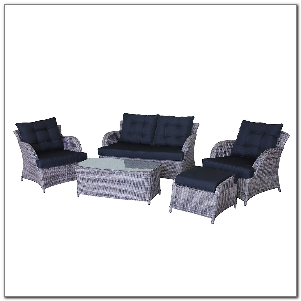 Wicker Outdoor Sofa Lounge