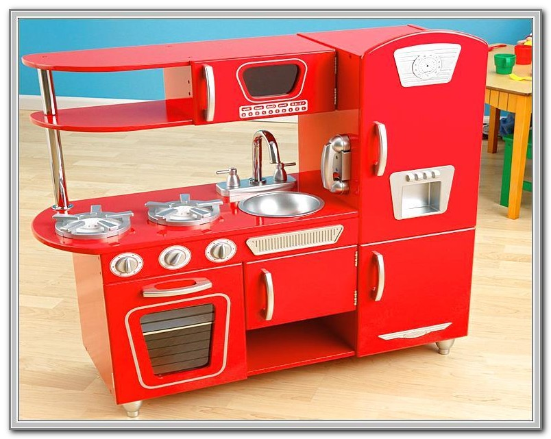 Wooden Kitchen Playsets Melissa And Doug