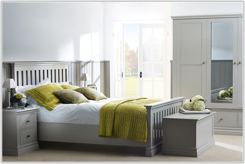 Hand Painted White Bedroom Furniture