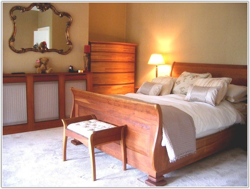 Solid Cherry Traditional Bedroom Furniture