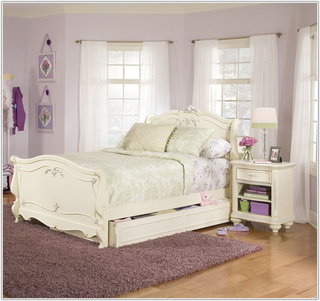 White Twin Bedroom Set Canada