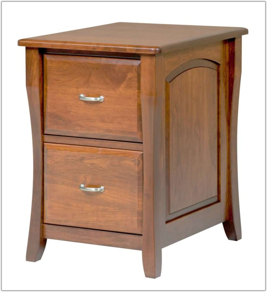 2 Drawer Filing Cabinet Wood