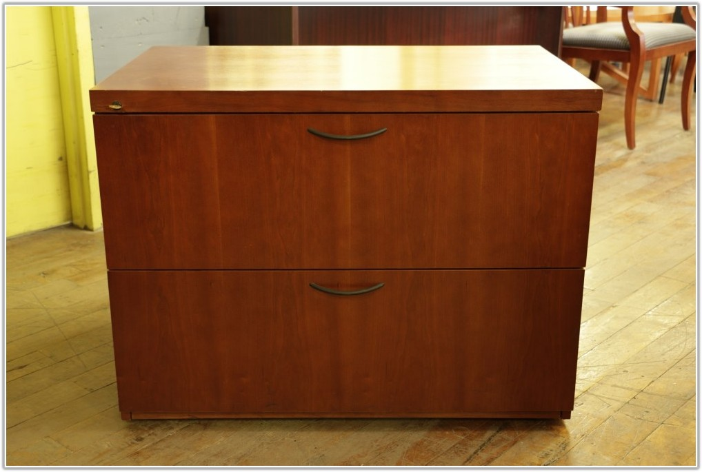 2 Drawer Wood Filing Cabinet Canada