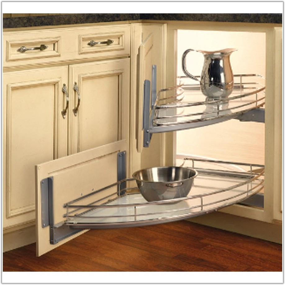 2 Tier Metal Pull Out Cabinet Basket