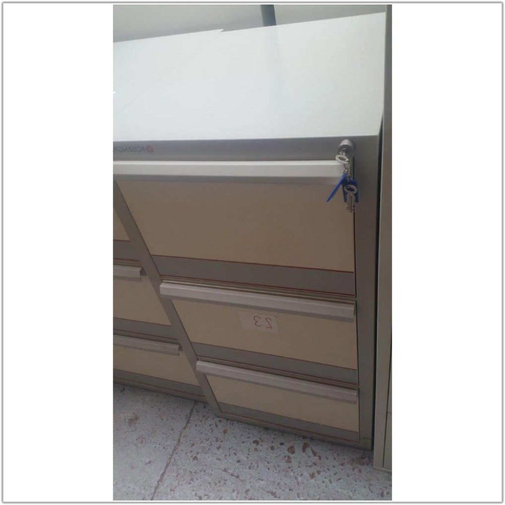 3 Drawer Filing Cabinets Second Hand