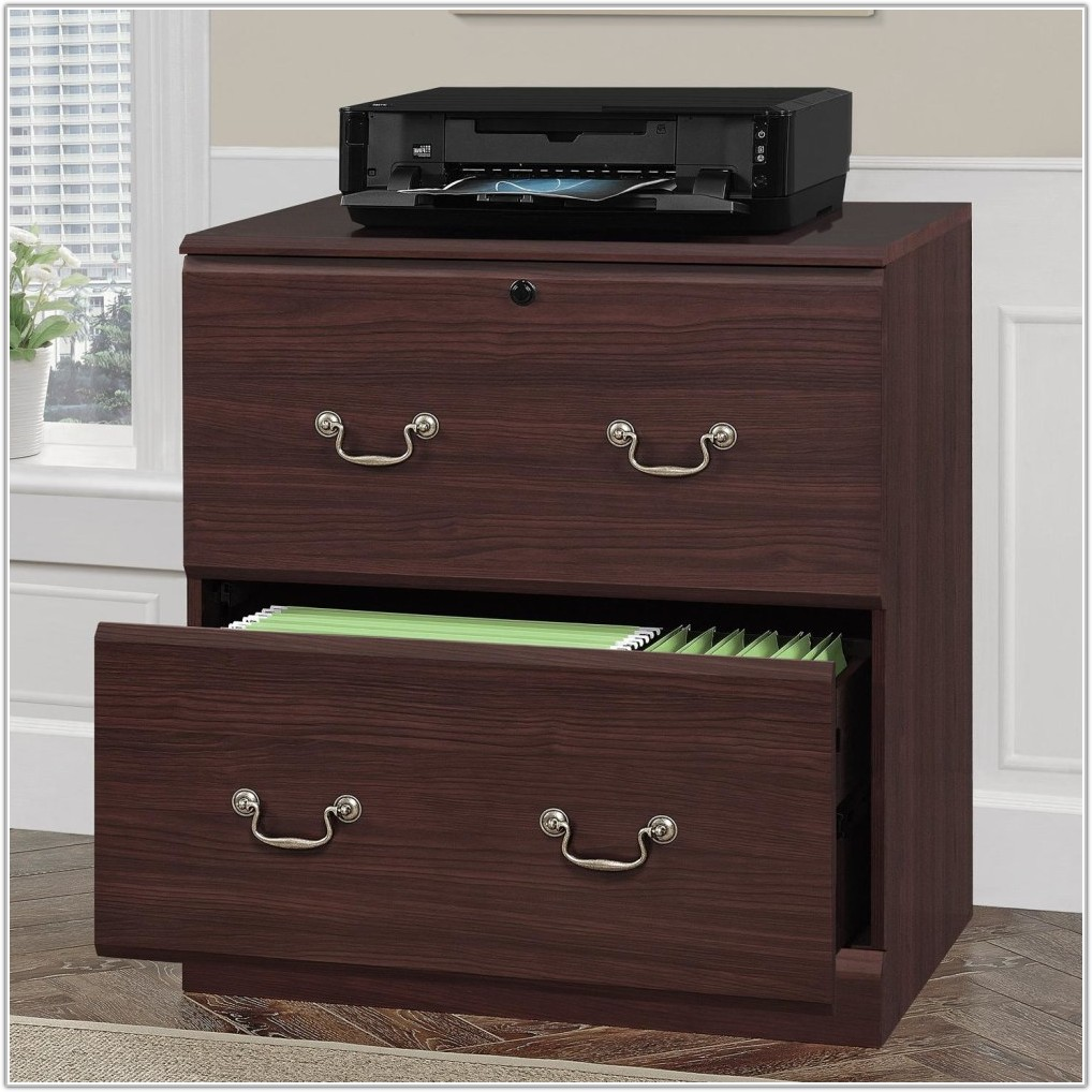 3 Drawer Wood Lateral File Cabinet