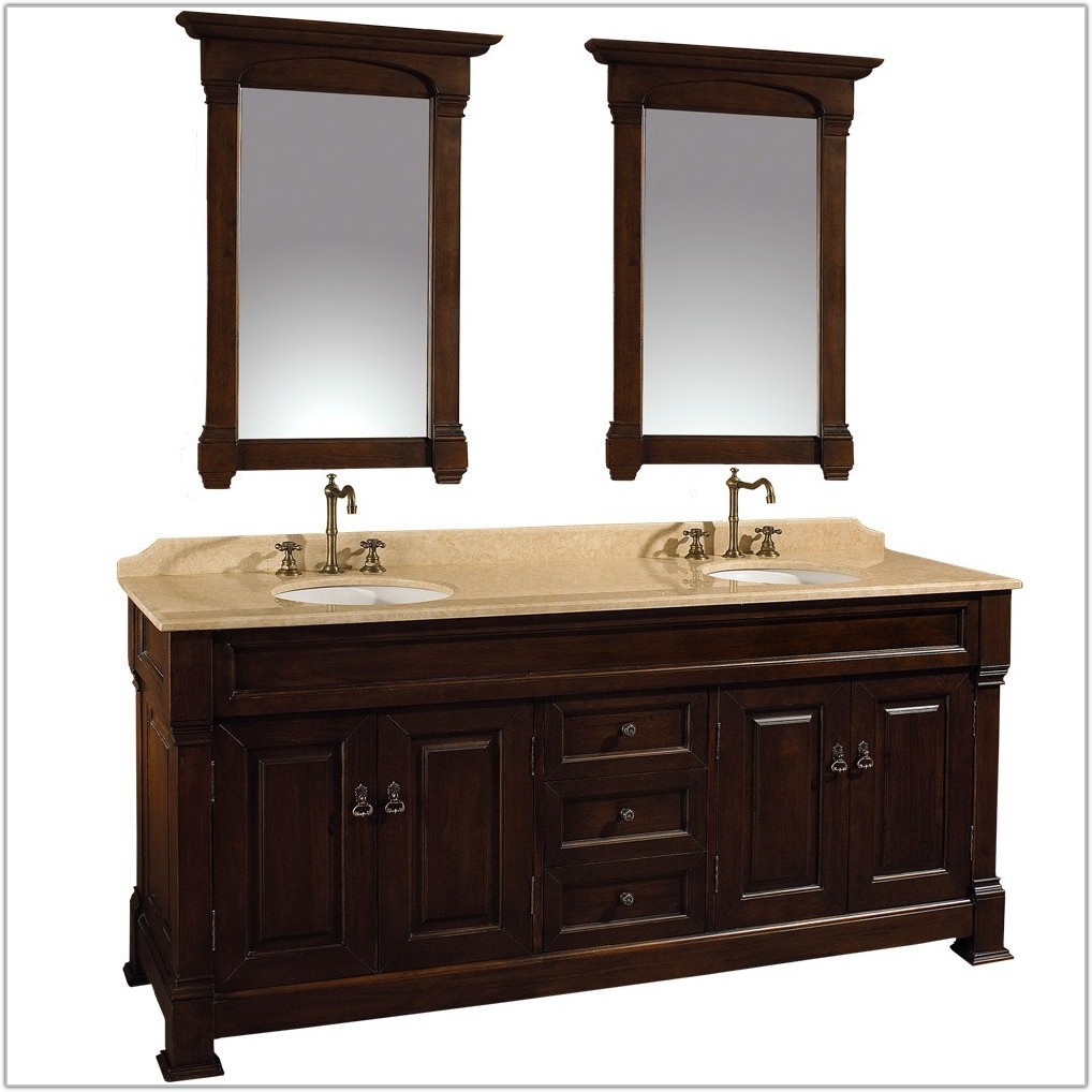 72 Bathroom Vanity Cabinet Only