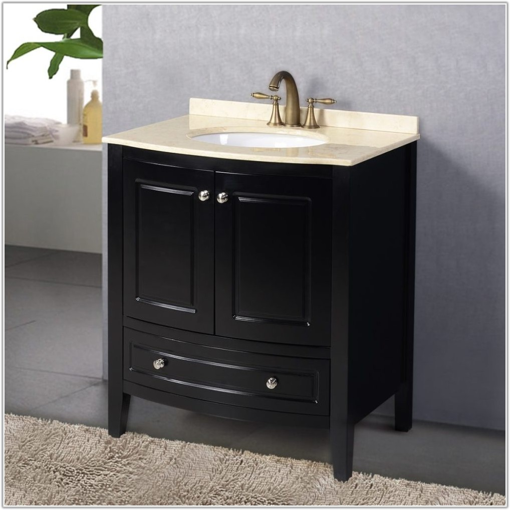 Bathroom Sink Cabinets With Marble Top