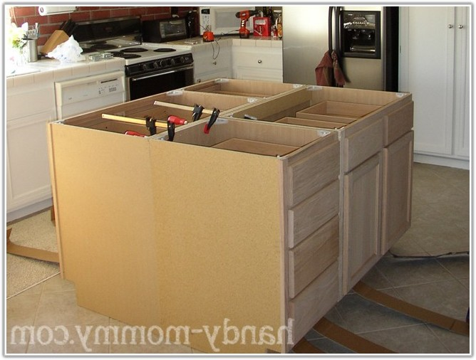 Build Kitchen Island With Cabinets