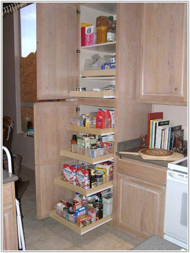 Cabinets With Pull Out Shelves
