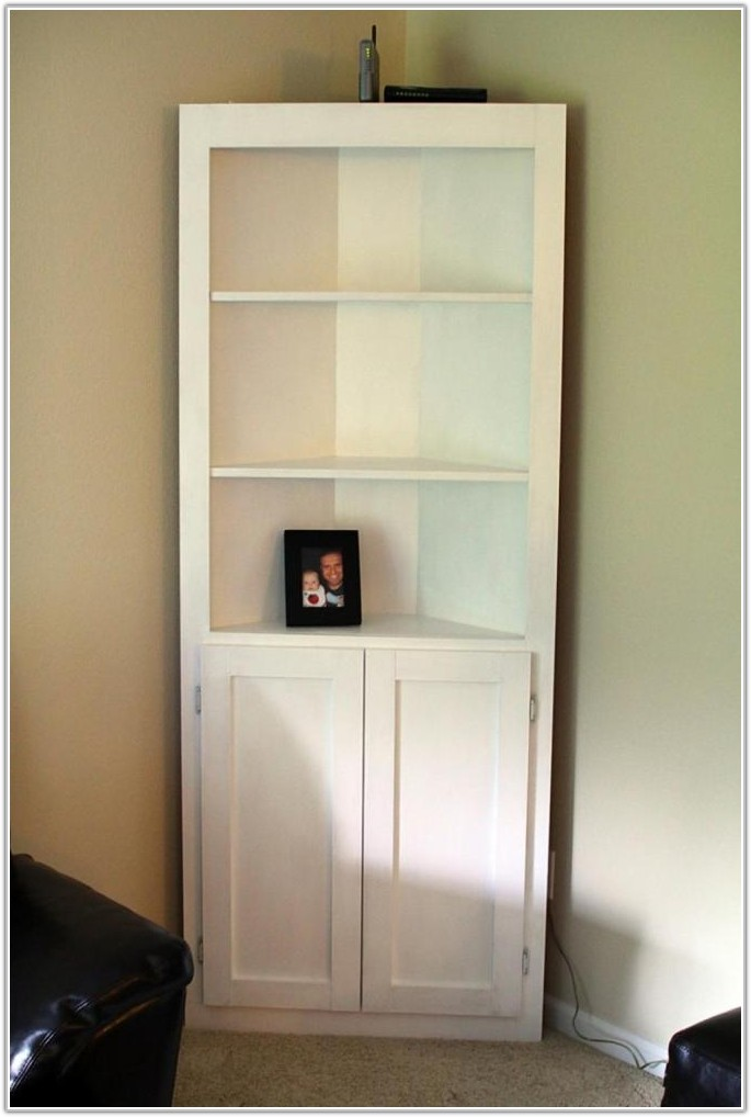 Corner Storage Cabinet Living Room